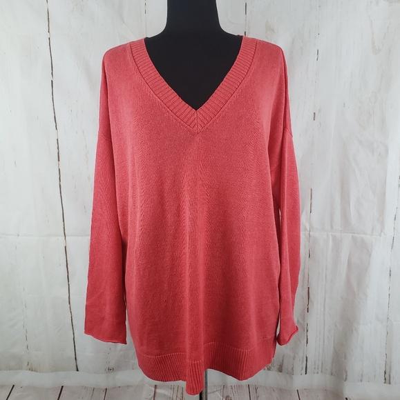 507f5dafd27 Eileen Fisher Sweaters | V Neck Linen Sweater Sz L Nwot | Poshmark